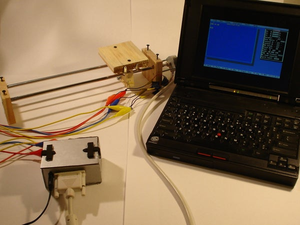 Easy to Build Stepper Controller From Recycled Materials