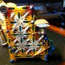 K'nex Jellybean Machine (My very own design)