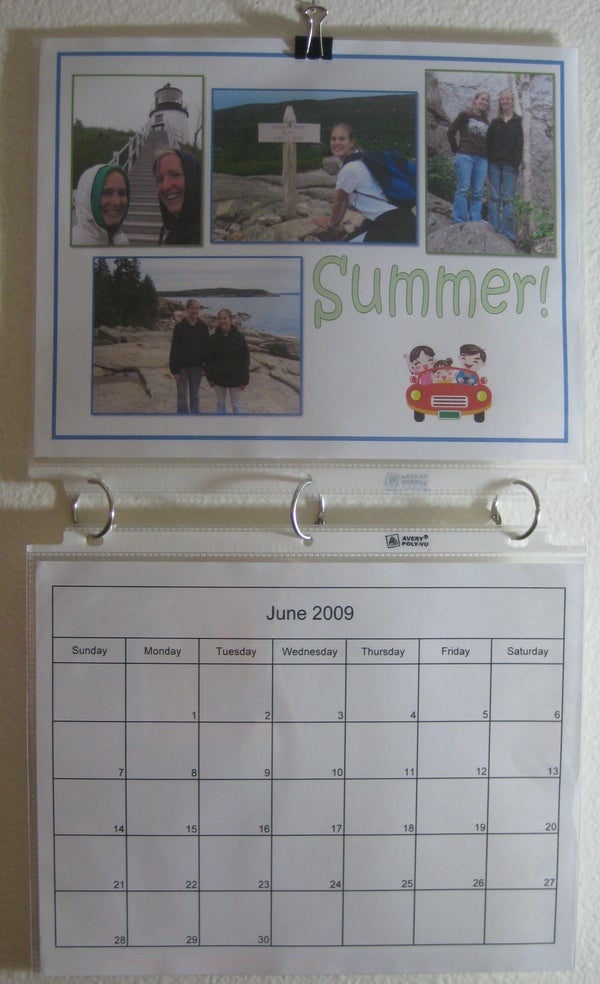 Creating Personalized Calendars