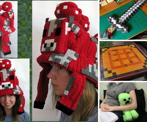 Interesting Real Life Minecraft Crafts