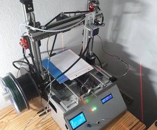 Homemade 3D Printer / Laser Engraver
