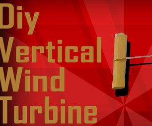 Diy Vertical Wind Turbine   Harvesting the Wind