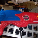 How to do a temporary repair on a pump action water gun