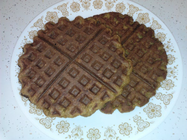 Pumpkin Oatmeal Waffles
