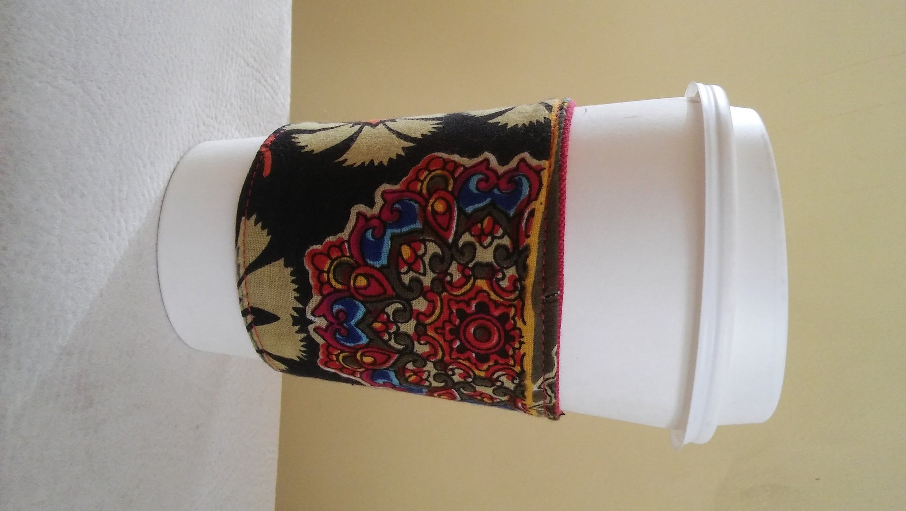 Friendship Coffee Sleeve With Design Thinking Methods