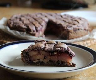无色和素食主义者紫馅饼