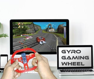 Make Steering Wheel Game Controller