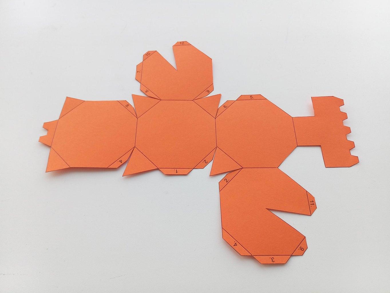 Assembling the Truncated Cube.