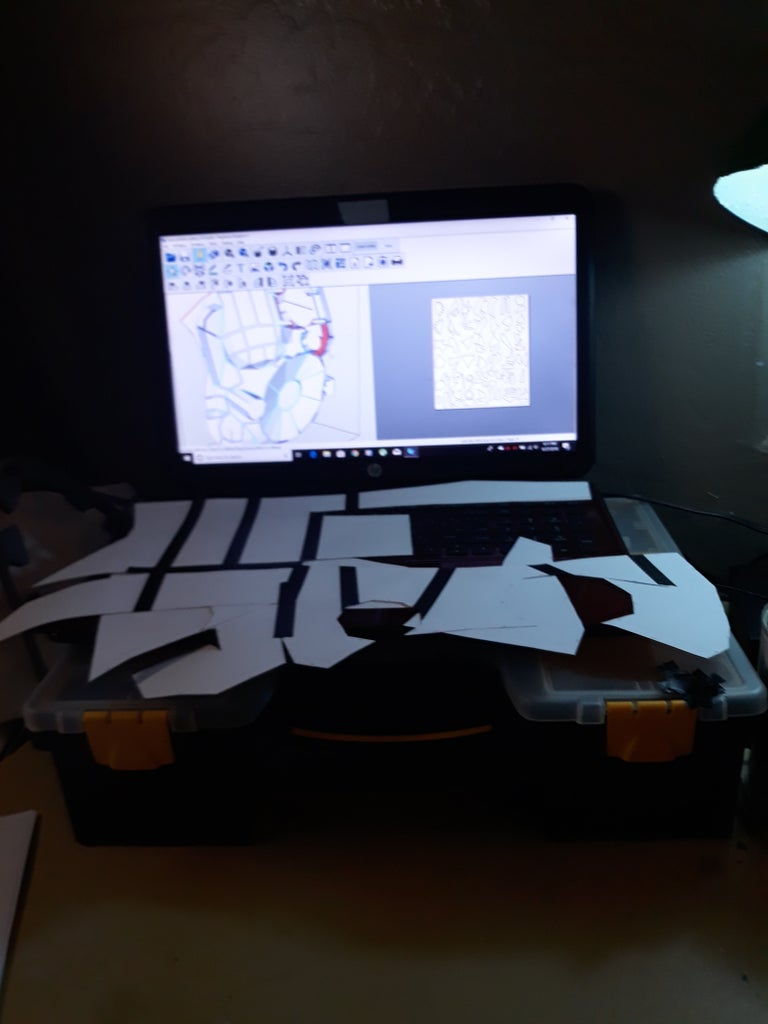 The Beginning of Trace Cut and Assemble.