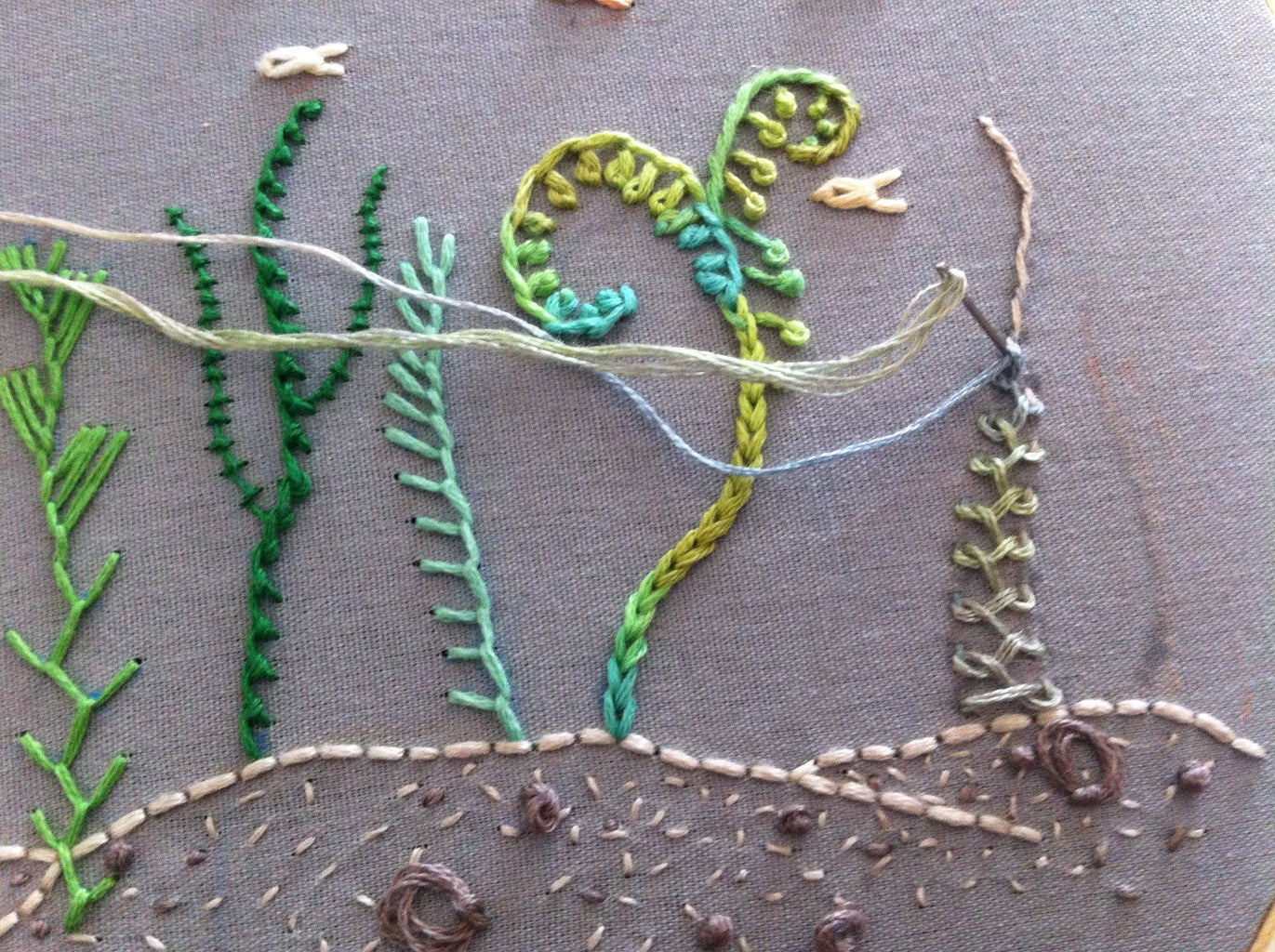 Embroider an Undersea Sampler