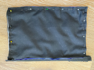 Folding the Pouch