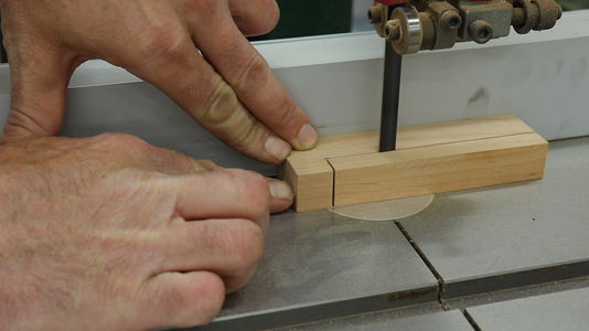 Cutting the Holder