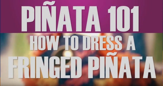 How to Dress a Pinata With Fringe