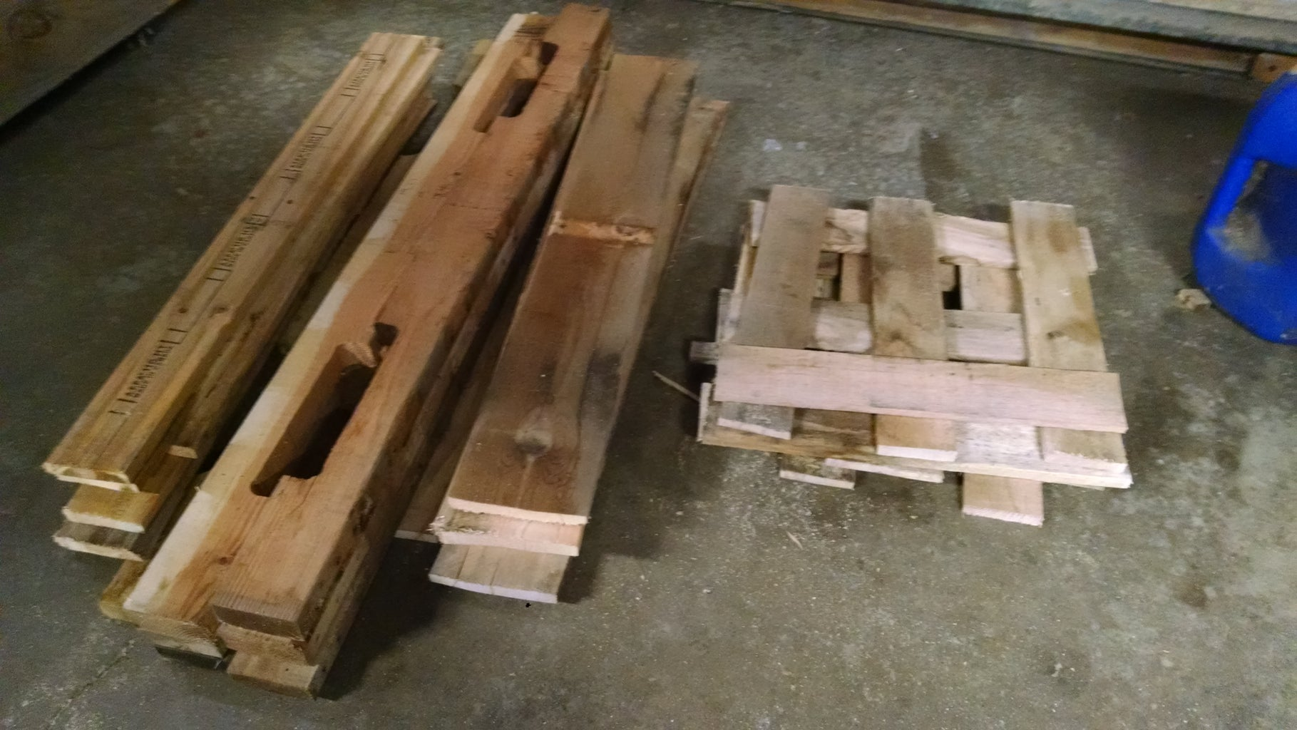 Disassemble Your Pallets