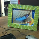 DIY Cheap photo frame - Marco de fotos baratito HTM