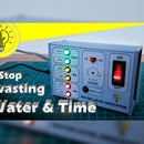 Water Level Indicator with temporary alarm & water flow sensor