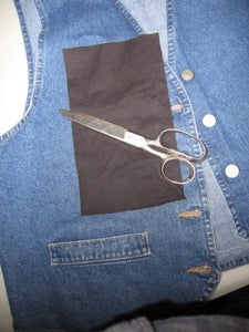 Measure and Cut Out Pockets