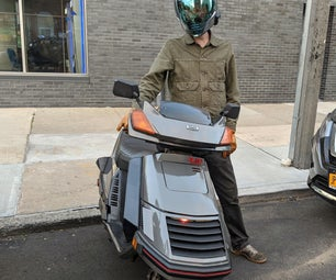 LED Cylon Scooter - 80s Larson Scanner