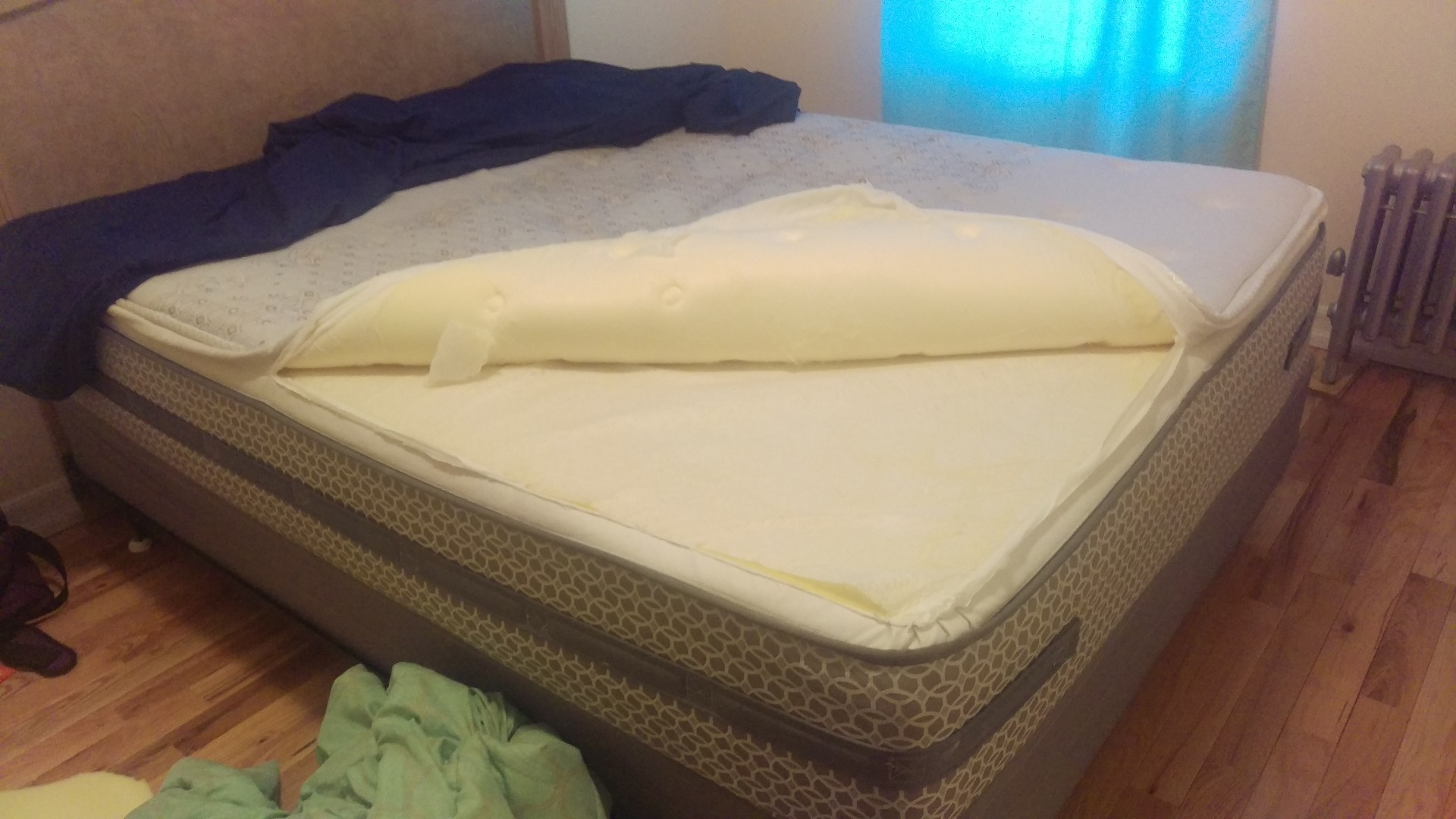 Hacking A Pillow Top Bed 4 Steps Instructables