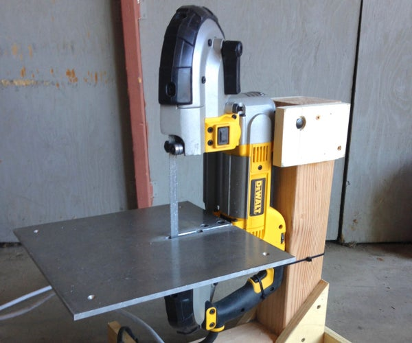 Bandsaw Stand From Scrap Lumber