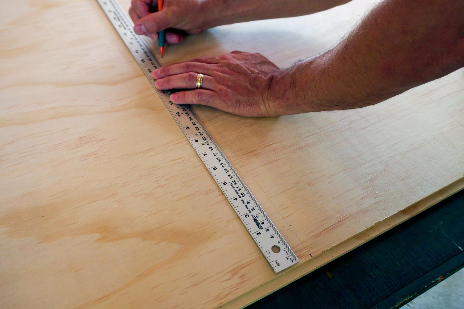 Make Some Marks on Some Plywood