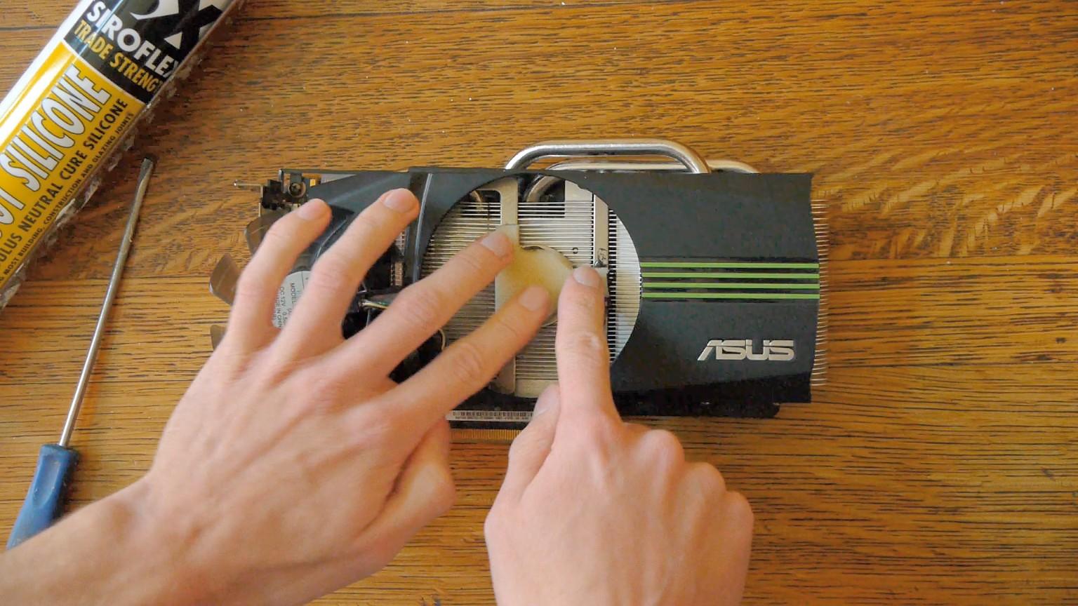 Make a graphics card quieter