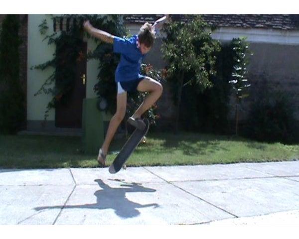 Skateboard: How to Ollie
