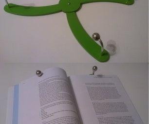 Adjustable Book Page Holder