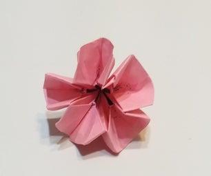 origami可爱的花