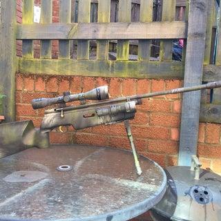 DIY Rifle Camouflage....
