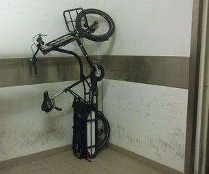 Vertical Storage for Cargo Bikes