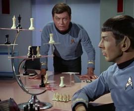 Star Trek TOS Tri-Dimensional Chess Set