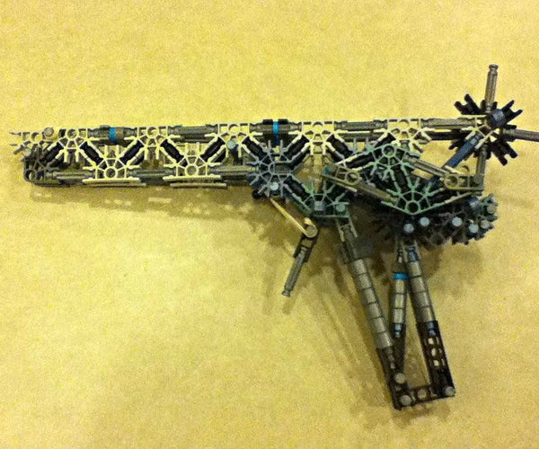 How to Make a K'NEX Semi-Automatic Rubber Band Pistol