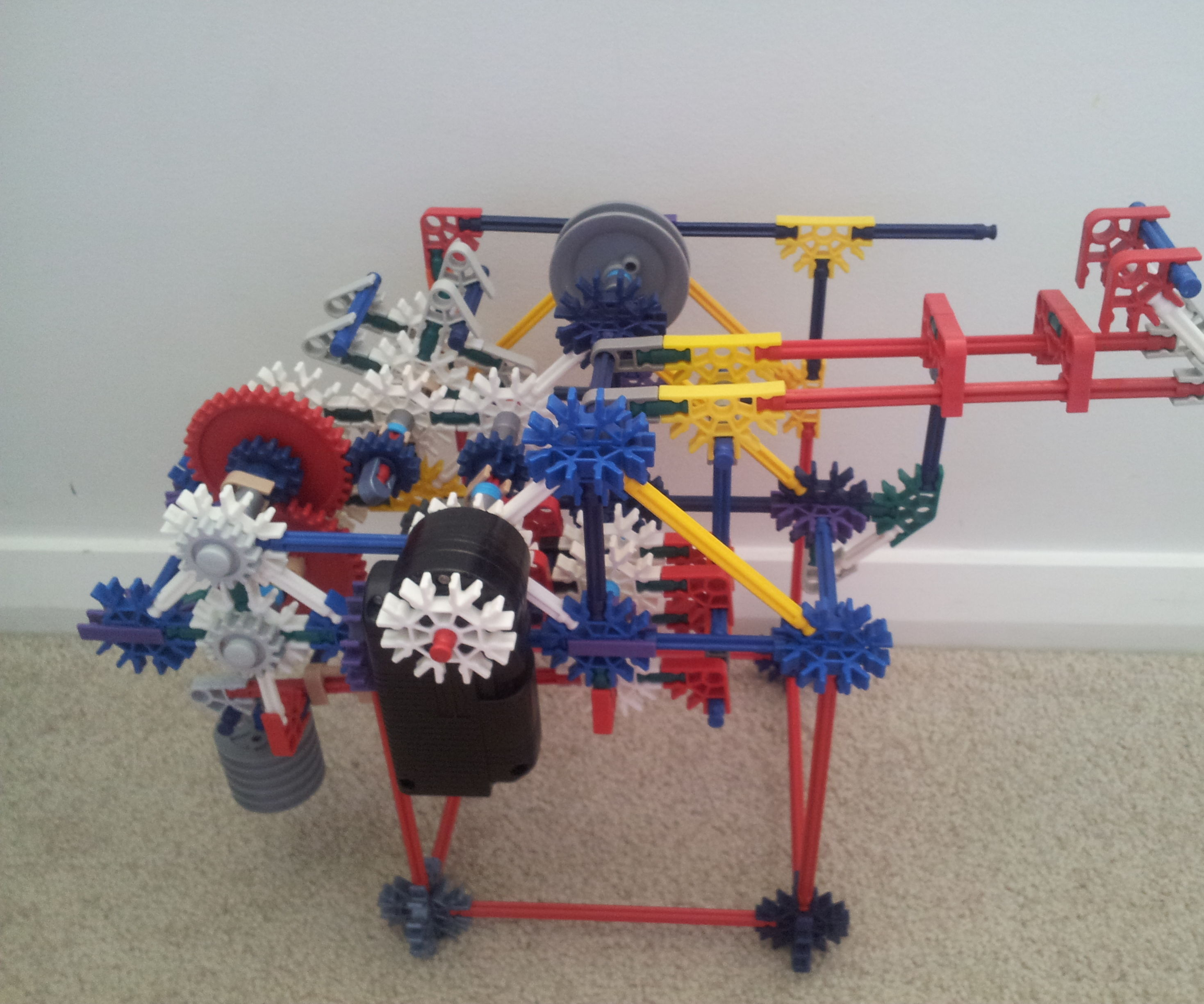 Pull Back Motor KNEX Spare Parts
