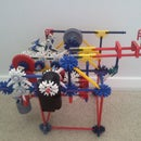 Knex Pull-back Car, Ball Machine Element