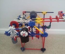 Knex Pull-back Car, Ball Machine Element