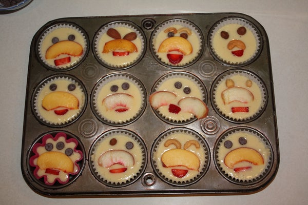How to Moustache Your Muffins