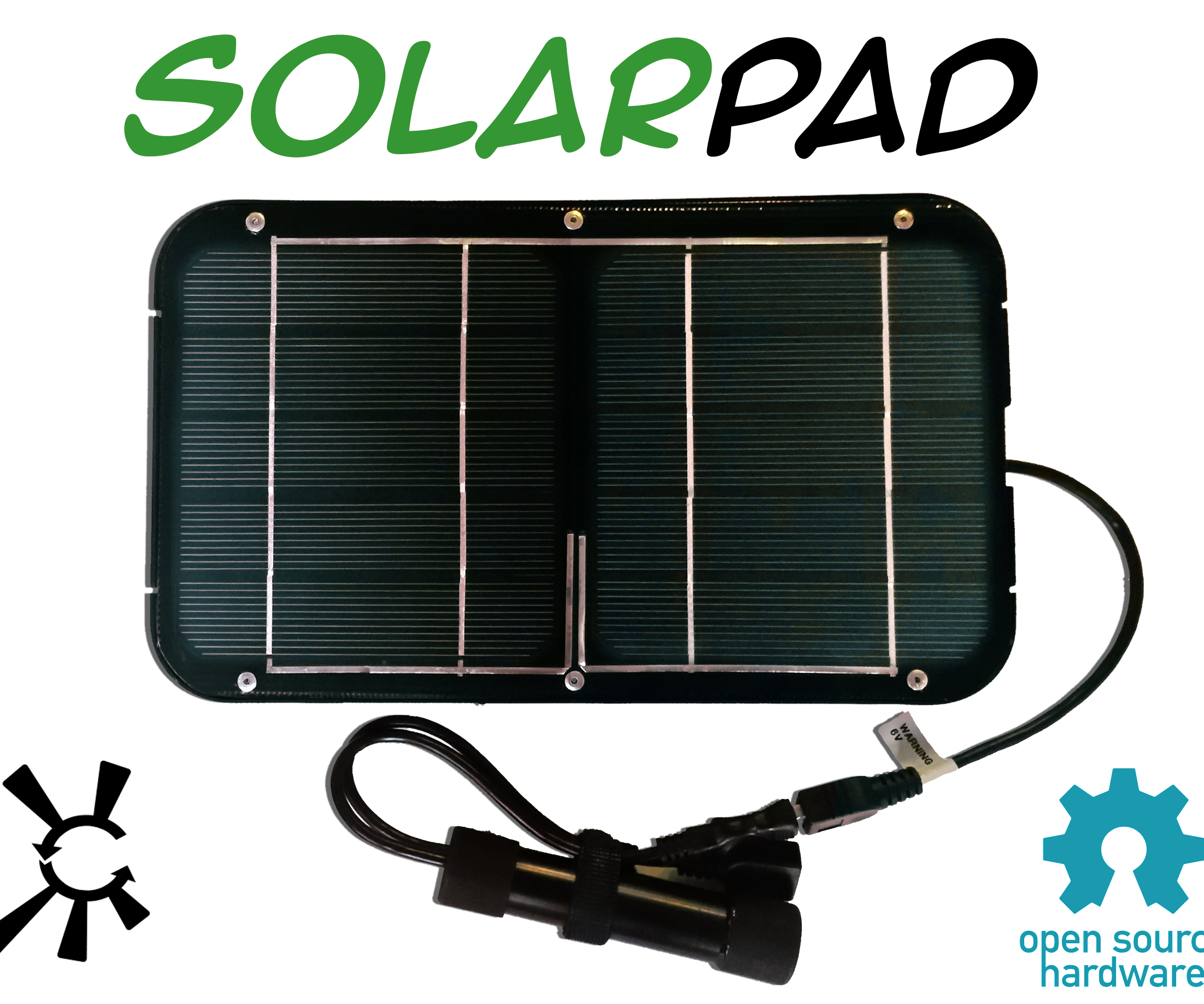 Open Source Solarpad Kit Solar USB Charger