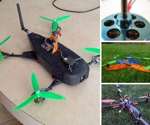 DIY Weekend Quadcopters
