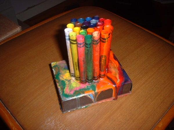 Crayon Desk Object