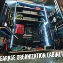 Garage Organization Cabinet