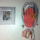 Upcycled Jewelry Display