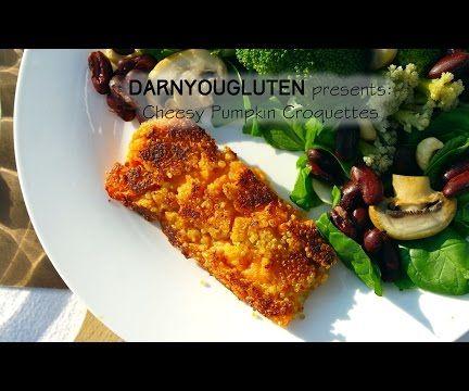 Cheesy Pumpkin Quinoa Croquettes (GF)