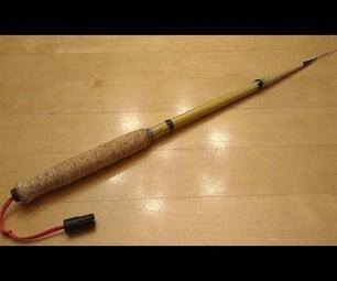 Tenkara (ish) Fishing Rod Build (DIY Tenkara Fishing Rod)