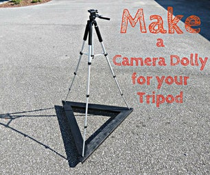 Make a Camera Dolly for Your Tripod