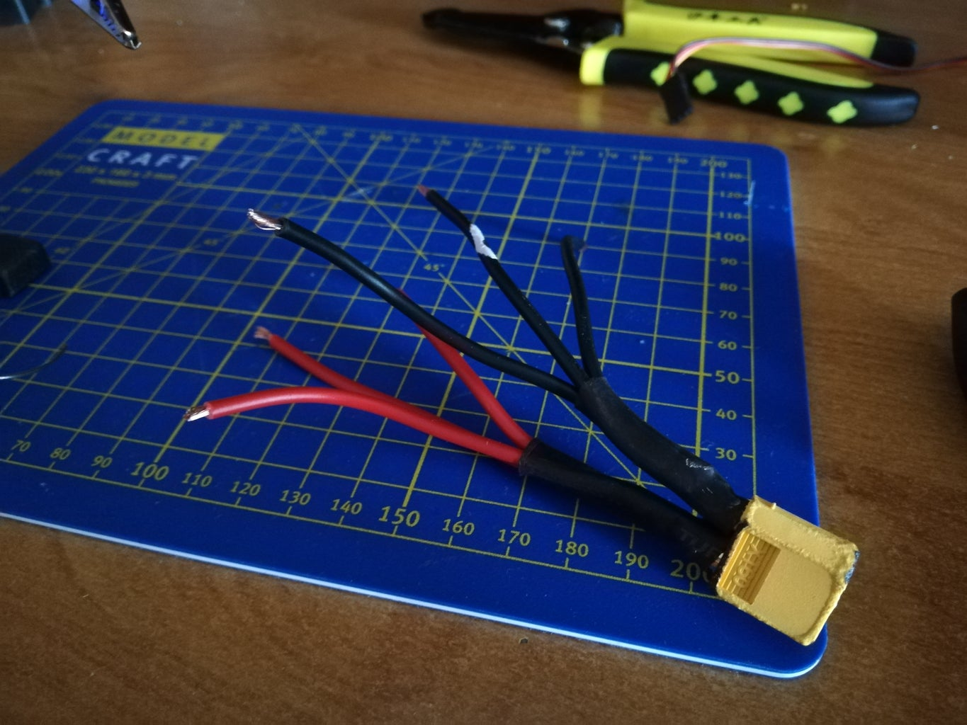 ESCs and Power Cable