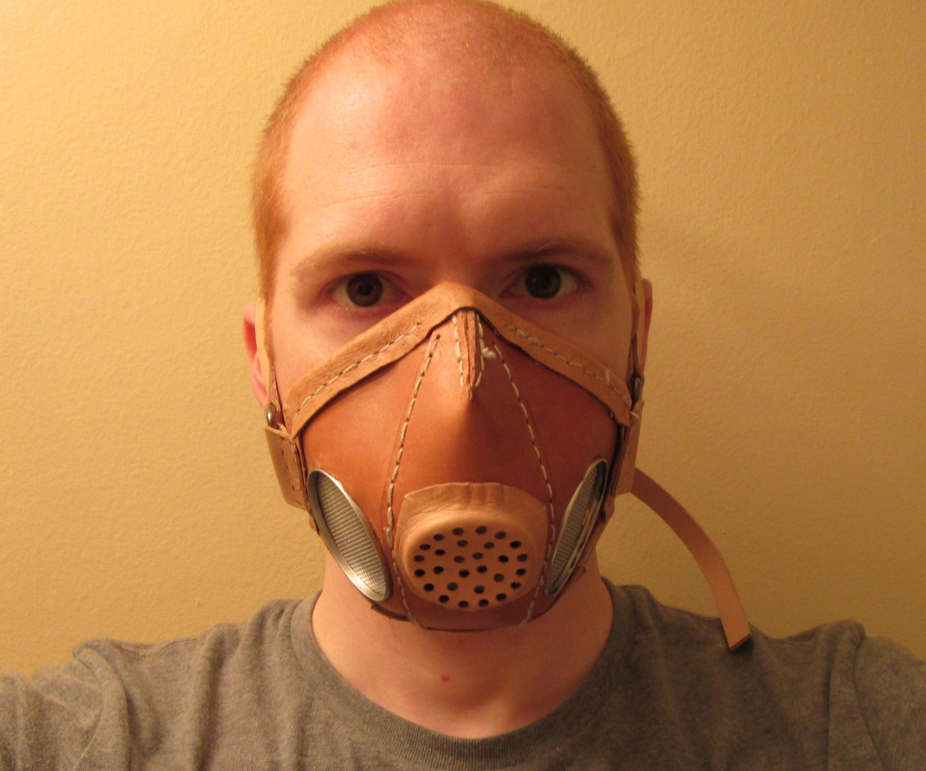 Functional Leather Respirator