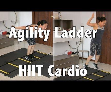 5 min Agility Ladder Workout