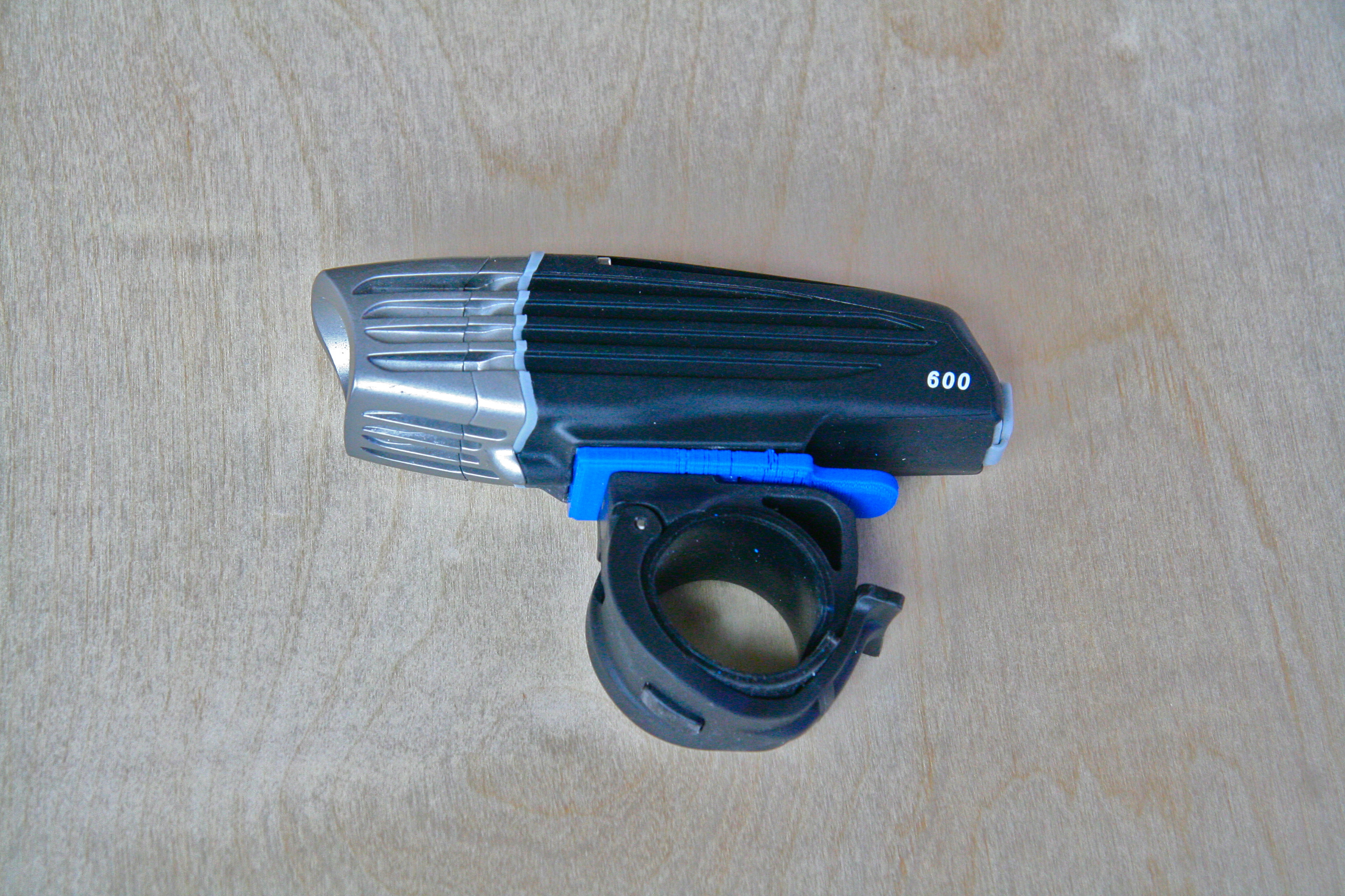 Repairing a Bike-Light Mount with 3D Printing