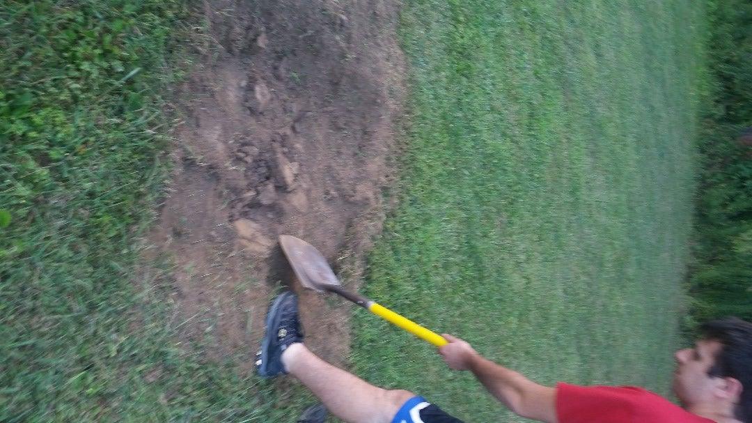 Dig a Prep Hole